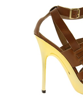 Image 3 ofMichael Kors Sage Leather Shoe