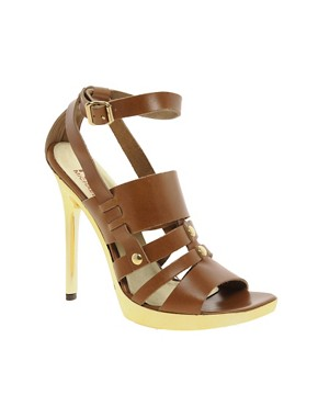 Image 1 ofMichael Kors Sage Leather Shoe