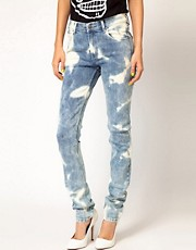 Cheap Monday Tight Tie Dye Skinny Jeans