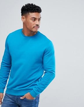 ASOS Sweatshirt In Blue