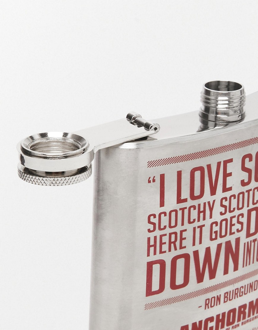 Image 3 of Anchorman Hip Flask