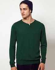 ASOS Notch Neck Sweater