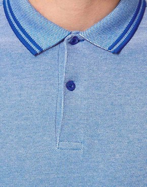 Image 3 ofFred Perry Slim Polo with Fit Twin Tip