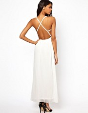 Oh My Love Maxi Dress with Cross Straps