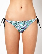 Braguitas de bikini con estampado floral de Oasis