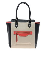 New Look Jenny Pocket Tote Bag