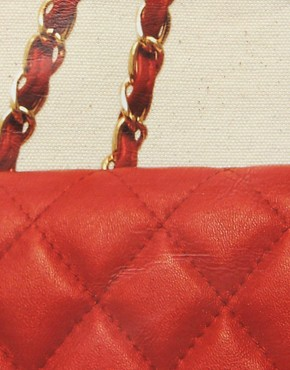 Image 4 ofThursday Friday Diamonds Red Tote