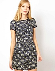 Sessun Cap Sleeve Dress in Liberty Floral Print