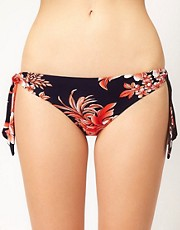 Seafolly Tropical Beat Tie Side Hipster Bikini Pant
