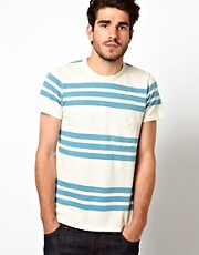 Levis Vintage T-Shirt 1960's Stripe Pocket