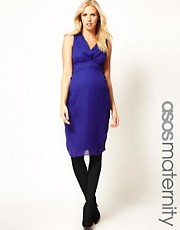 ASOS Maternity Tulip Midi Dress