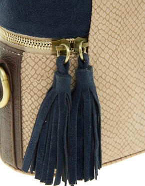 Image 4 ofASOS Snake Tassel Across Body Bag