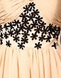 Image 3 ofOpulence England Chiffon Bandeau Flower Dress