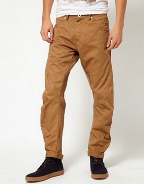 Image 1 ofJack &amp; Jones Dale Twisted Chinos