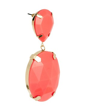 Image 3 ofASOS Gem Drop Earrings