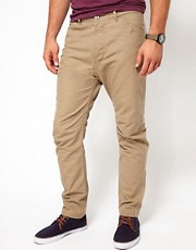 Chinos de corte estrecho Akyss de Diesel
