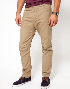Image 1 ofDiesel Chinos Akyss Tapered Fit