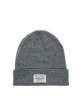 Image 1 ofJack &amp; Jones Beanie Hat