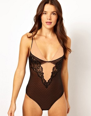 Image 4 ofCalvin Klein Black Lace Body