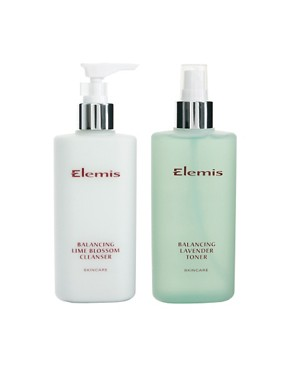 Image 1 ofElemis Limited Edition Balance &amp; Purify Cleansing Duo&#39;s 2 x 200ml