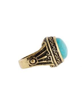 Image 4 ofASOS Ornate Signet Ring