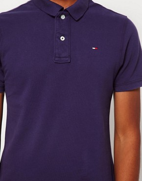 Image 3 of Hilfiger Denim Pique Polo Shirt
