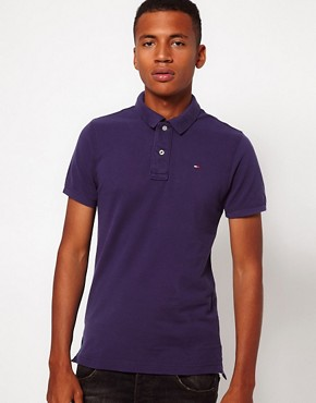 Image 1 of Hilfiger Denim Pique Polo Shirt