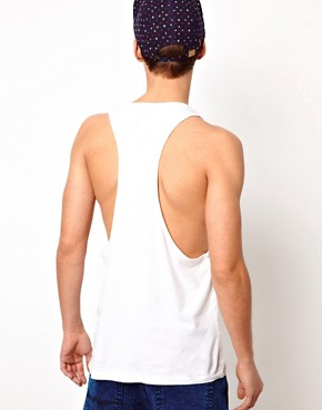 Image 2 ofASOS Vest With Diamond Print