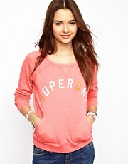 Superdry Crew Neck Pocket Sweatshirt
