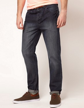 Image 1 ofASOS Slim Jeans With Mid Wash