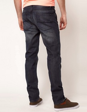 Image 2 ofASOS Slim Jeans With Mid Wash