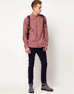 Image 4 ofFred Perry Oxford Shirt Tartan Pinpoint