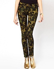 Vivienne Westwood Anglomania For Lee Jegging In Yellow Dye