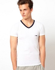 Emporio Armani Embossed Logo T-Shirt