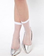 ASOS 50 Den Fish Net Ankle Sock
