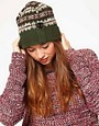 Image 1 ofBarbour Laura Fairisle Hat