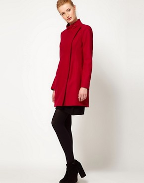 Image 4 ofFrench Connection Wonderland Wool Coat
