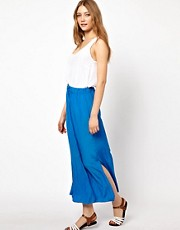 American Vintage Maxi Skirt With Side Split