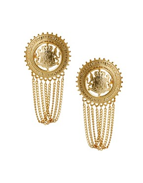 Image 1 ofLimited Edition Coin Chain Earrings