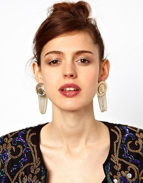 Image 2 ofLimited Edition Coin Chain Earrings