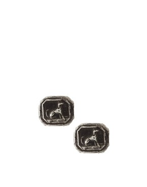 Image 1 of Pyrrha Dog Stud Earrings