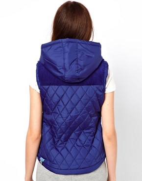 Image 2 ofUCLA Sleeveless Hooded Gilet
