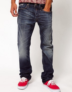 Image 1 ofReplay Jeans Waitom Regular Slim Straight