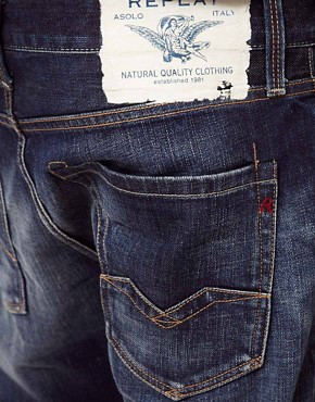 Image 4 ofReplay Jeans Waitom Regular Slim Straight