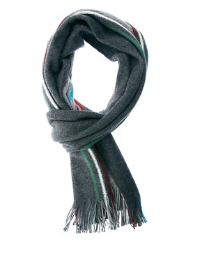 Image 1 ofPaul Smith Jeans Reversible Scarf