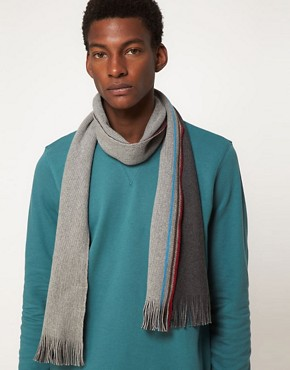 Image 2 ofPaul Smith Jeans Reversible Scarf