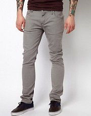 Vans Jeans V76 Skinny Fit Gray Washed