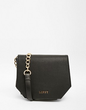 Lipsy Black Chain Across Body Bag