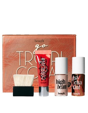 Image 1 ofBenefit Limited Edition Go Tropicoral Set