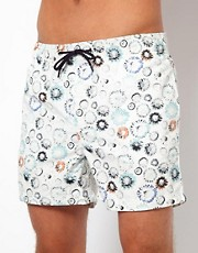 Humor Daisy Swim Shorts